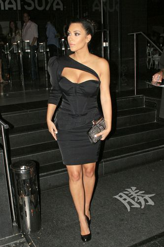 La La Vazquez and Kim Kardashian at Katsuya 7