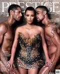 Kim Kardashian on Prestige Magazine September 2010 a