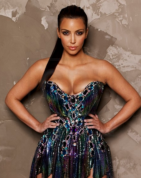 Kim Kardashian on Prestige Magazine September 2010 3