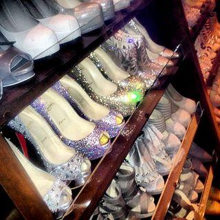 Kim Kardashian Shoe Collection Pics a