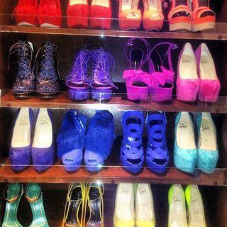 Kim Kardashian Shoe Collection Pics b