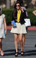 Kim Kardashian Style on Easter Day Visit c