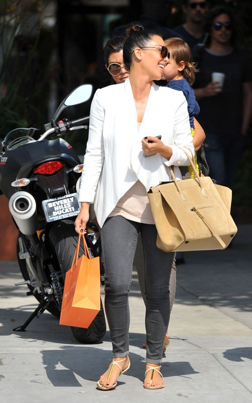 Kim & Kourtney Kardashian Enjoy Shopping at Malibu a