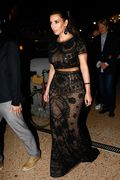Kim Kardashian in Emilio Pucci Dress e