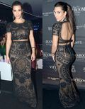 Kim Kardashian in Emilio Pucci Dress f