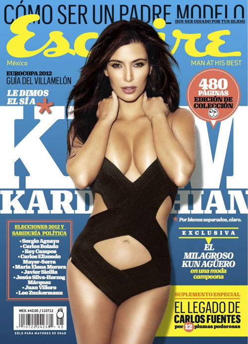 Kim Kardashian Photoshoot for Esquire magazine