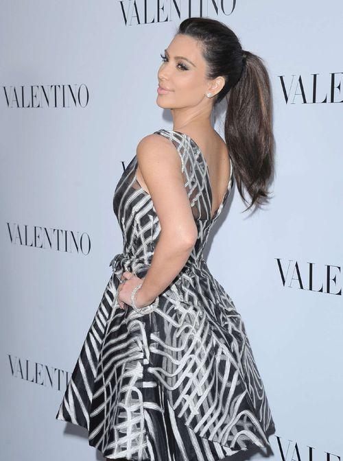 Kim Kardashian at Valentino 50th Anniversary Store Opening l