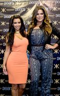 Kim Khloe Kardashian Kris Jenner appearing at Woodfield Mall a