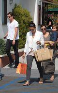 Kim & Kourtney Kardashian Enjoy Shopping at Malibu c