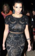 Kim Kardashian in Emilio Pucci Dress a