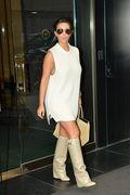 Kim Kardashian at a New York City Hotel