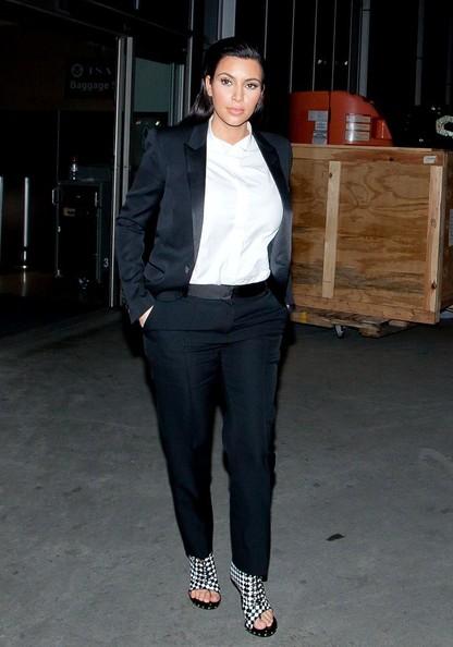 Kardashian sisters at david letterman show g